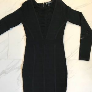 French Connection Duo Danni Knits Bandage Dress-2